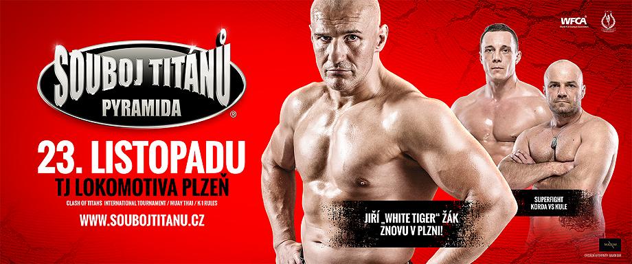 SOUBOJ TITÁNŮ - 23.11.2019 Plzeň
