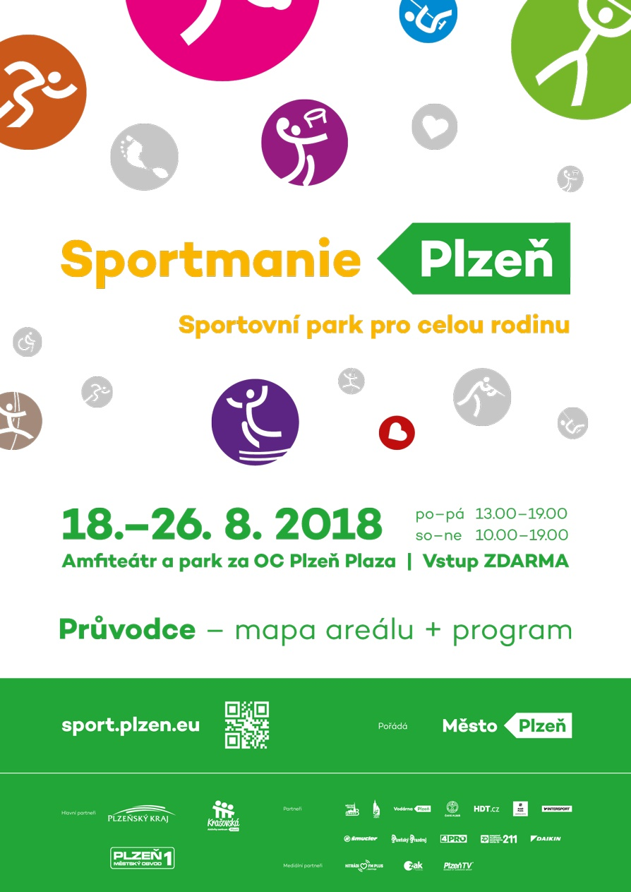 75241ddf0 Sportmanie Plzeň 2018 - těšíme se na Vás 21. a 23. srpna ve 14:30 ...